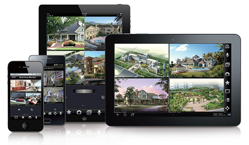 CCTV Systems on Mobile